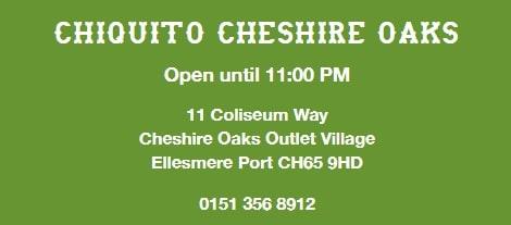 Chiquito Restaurants at Cheshire Oaks