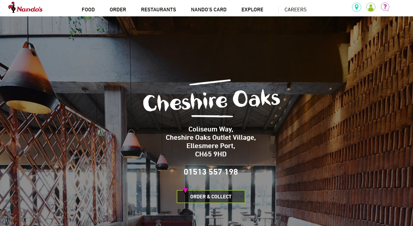 Restaurants At Cheshire Oaks Your Local Cheshire