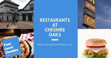 restaurants at Cheshire Oaks Chester
